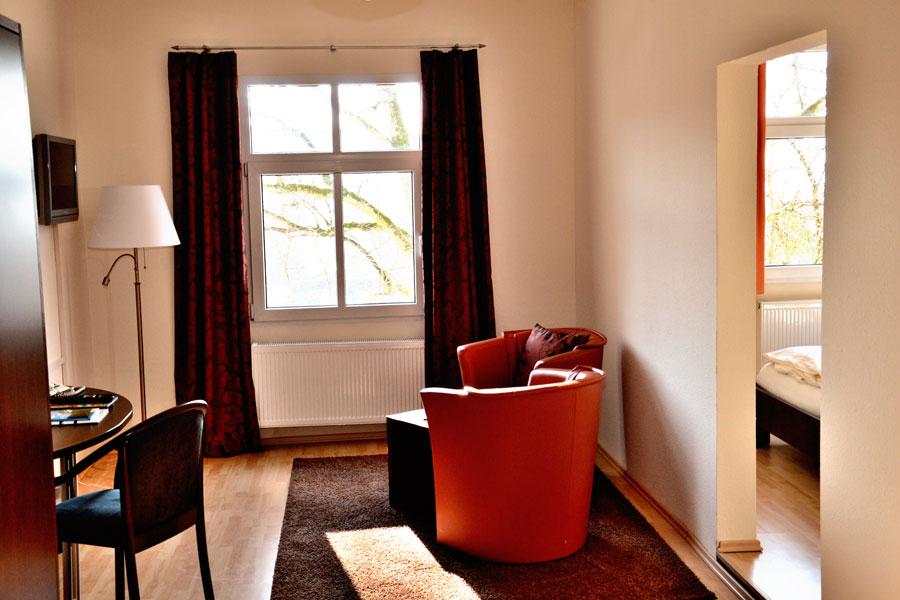 Comfort mit zwei Räumen