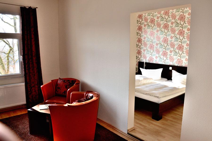 Comfort Schlafzimmer separat