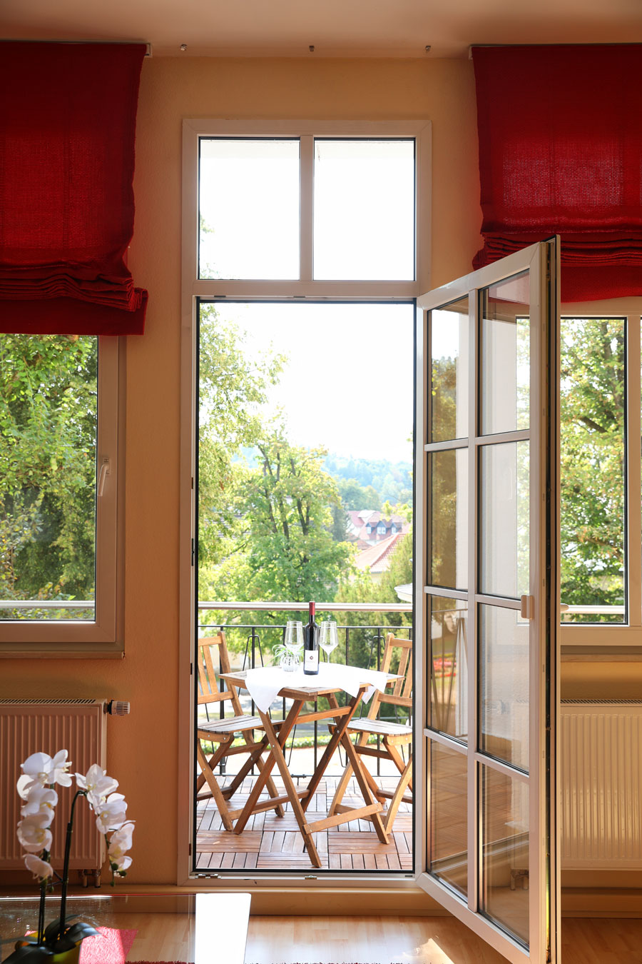 Suite Nr. 214 mit Balkon